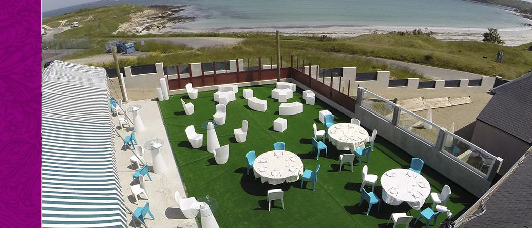 Les terrasse de l'Aber pour votre mariage